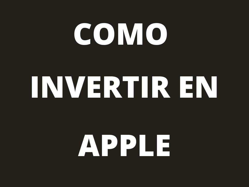 invertir en apple